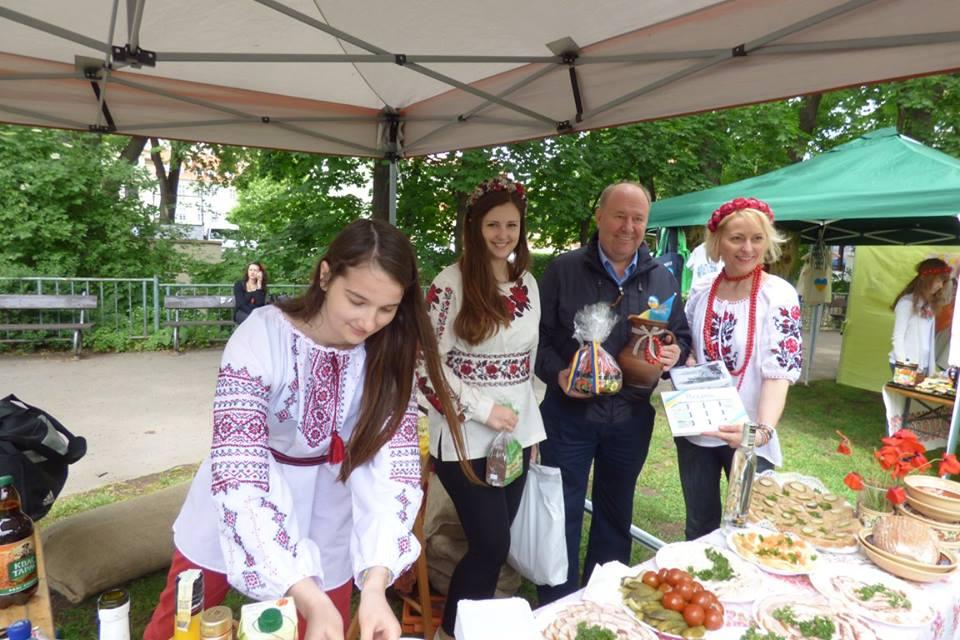 Прага. Україна на мультикультурному фестивалі RefuFest