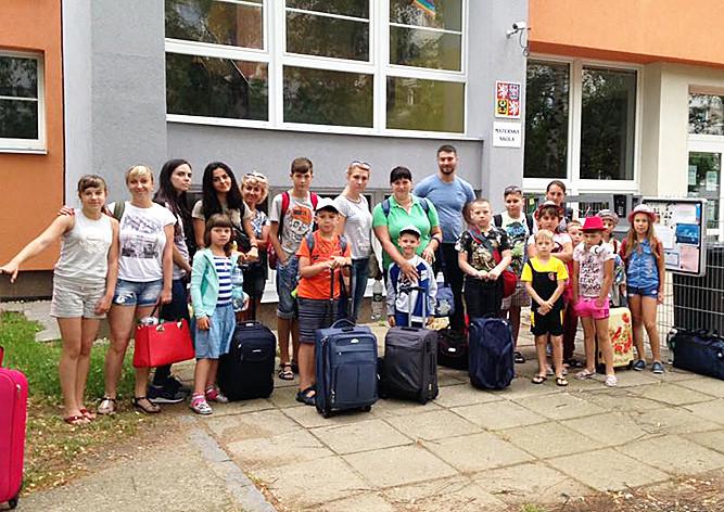 Praha 4 se zapojila do projektu letních prázdnin pro děti z Ukrajiny