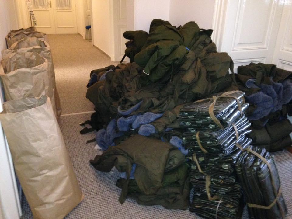 Další pomoc z Čech pro ukrajinské vojáky