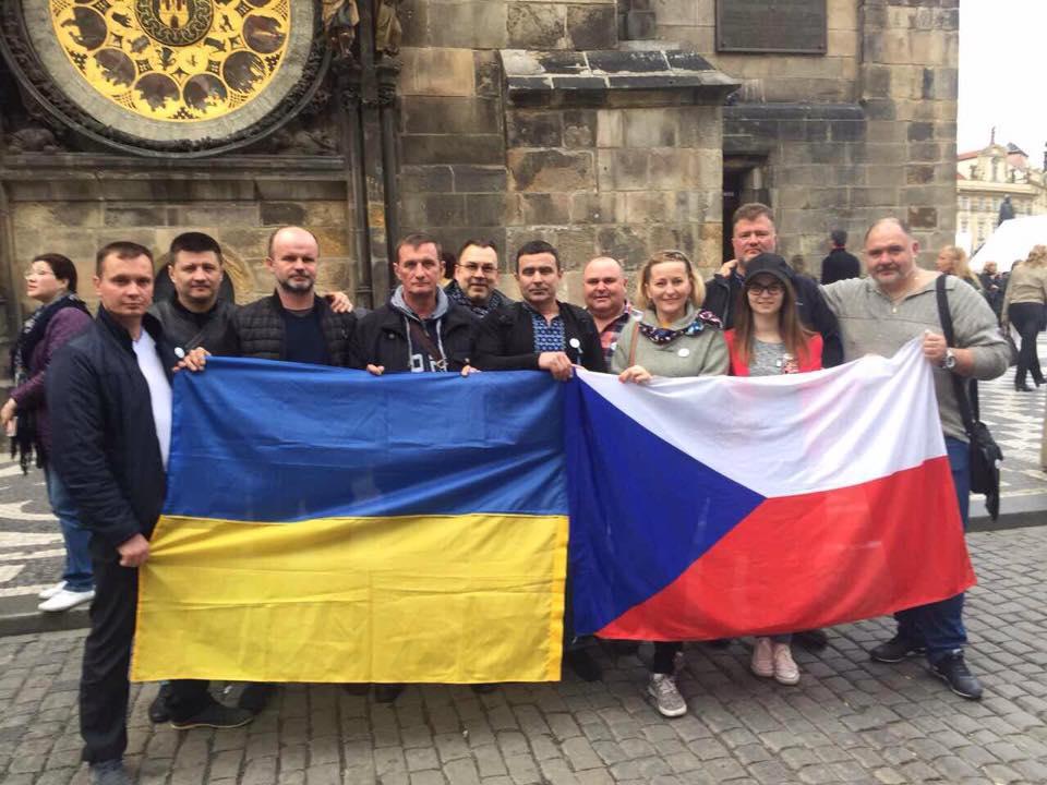 Зустріч з українськими військовими в Празі