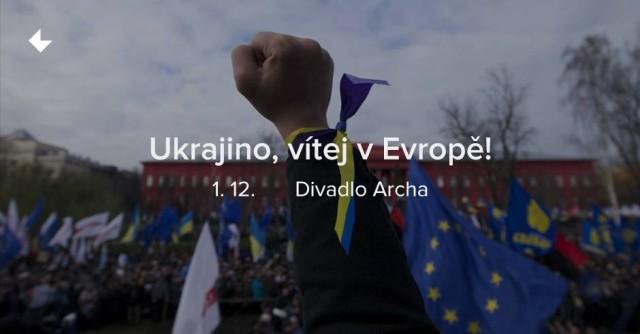 Ukrajino, vítej v Evropě! – benefiční rockový festival