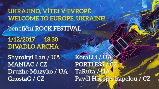V Praze zahrají na benefici ukrajinské kapely